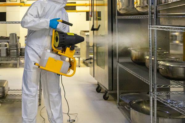 Medical equipment cleaning