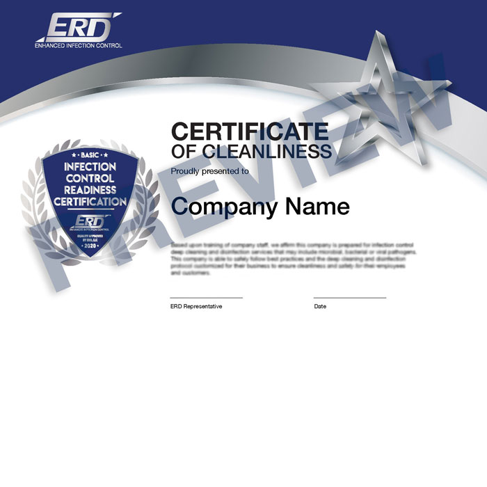 Certificate of cleanliness & best practices
